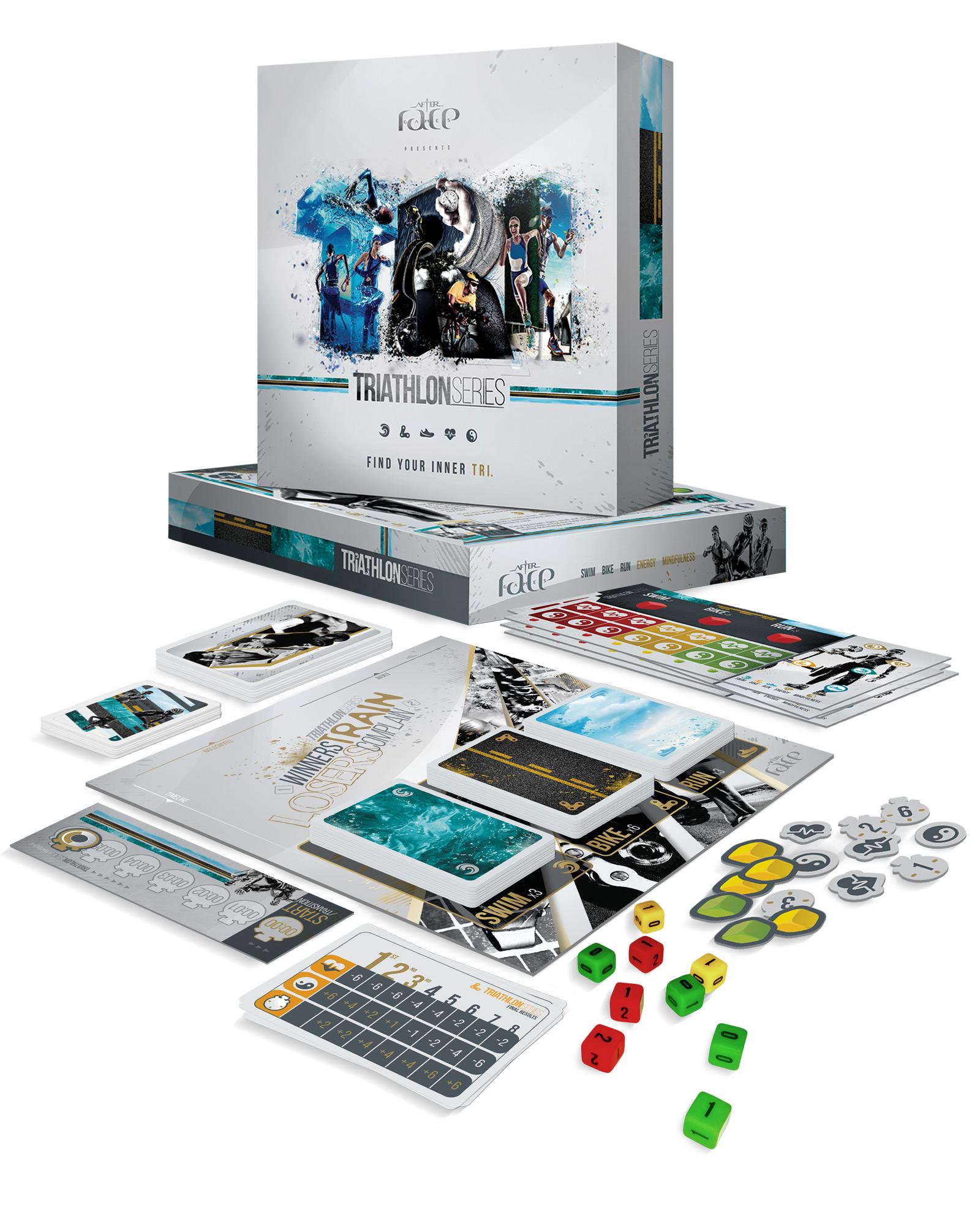 TRIATHLON Series. The Board Game